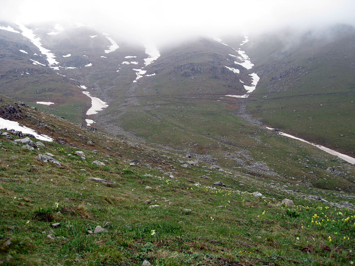Slopes of Khalabsky Range