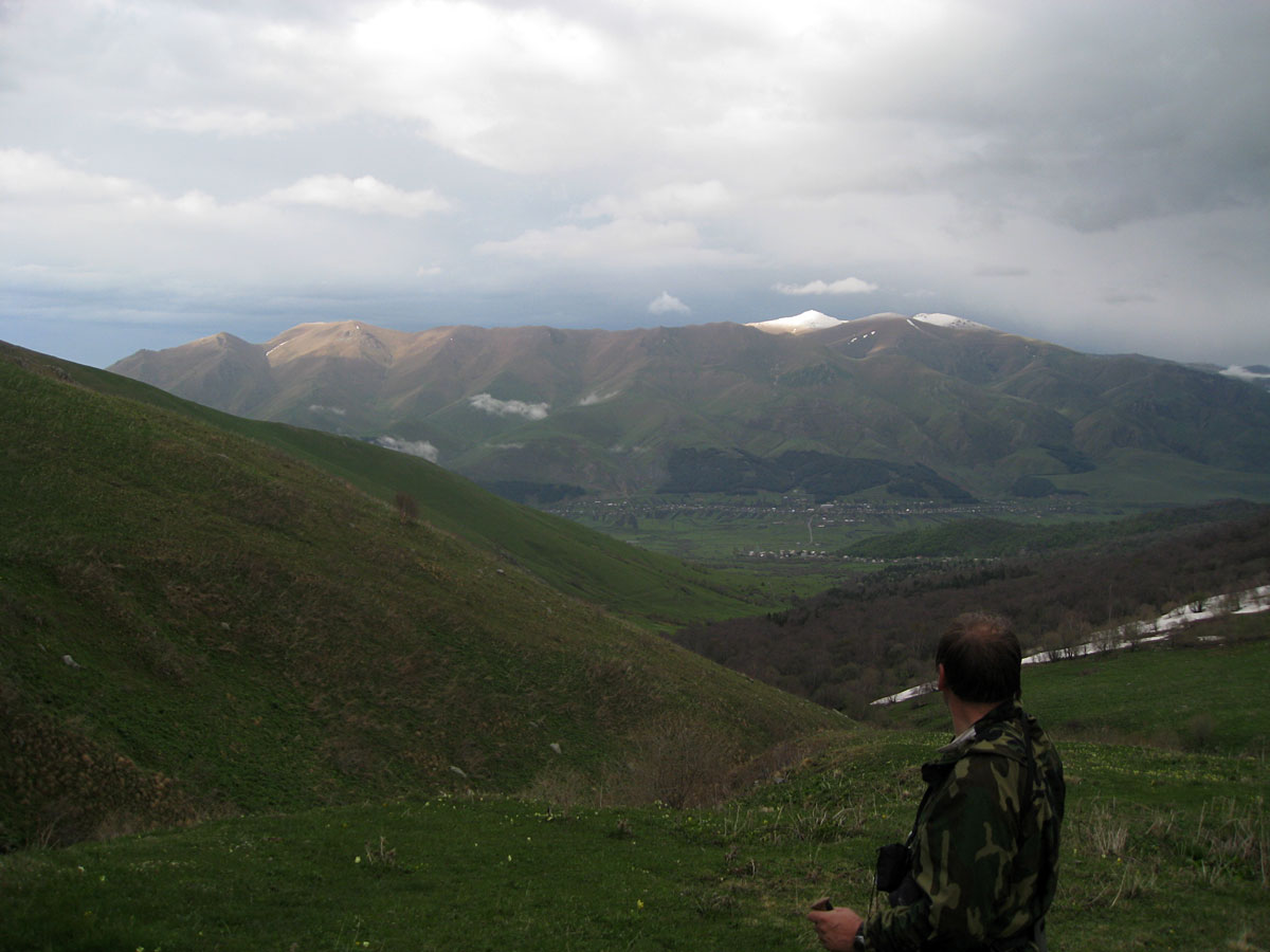 View to Khalabsky Range